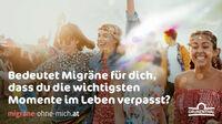 © Grünenthal, Abdruck honorarfrei / Kampagne Migräne ohne mich
