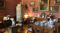© Edith Spitzer, Wien / Milotice, CZ - Schloss_Salon_rot / Zum Vergrößern auf das Bild klicken