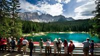 © Eggental Tourismus / Eggental, Südtirol - Naturjuwel Karer See / Zum Vergrößern auf das Bild klicken