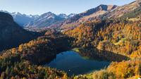 © Tourismus Oberstdorf / Eren Karaman / Oberstdorf, Oberallgäu - Freibergsee / Zum Vergrößern auf das Bild klicken