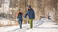 © SalzburgerLand Tourismus / Salzburg - Spaziergang im Schnee / Zum Vergrößern auf das Bild klicken