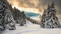 Rigi, CH - Winterpanorama