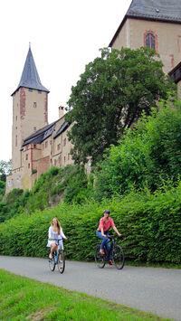 © Andreas Schmidt / Schloss Rochlitz, Sachsen - Mulderadweg / Zum Vergrößern auf das Bild klicken