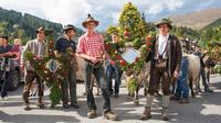 © Andreas Kirschner / Serfaus-Fiss-Ladis, Tirol - Almabtrieb / Zum Vergrößern auf das Bild klicken