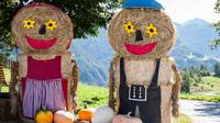 © Andreas Kirschner / Serfaus-Fiss-Ladis, Tirol - Genussherbst_Strohpuppen / Zum Vergrößern auf das Bild klicken