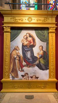 © Robin Consult / Mikes / Votivkirche, Wien - Die großen Meister, Sixtinische Madonna / Zum Vergrößern auf das Bild klicken