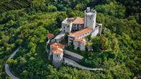 Vipava-Tal, Slowenien - Burgen