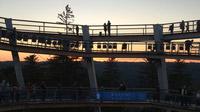 © Edith Spitzer, Wien / Sommerberg, Bad Wildbad - Aussichtsturm_Sonnenuntergang / Zum Vergrößern auf das Bild klicken