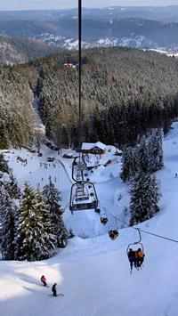 © TTG / Foto: Andreas Weise / Steinach, Thüringen - Skiarena  / Zum Vergrößern auf das Bild klicken
