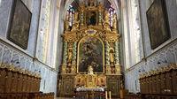 © Edith Spitzer, Wien / Kremstal-Donau, NÖ - Stift Göttweig_Altar / Zum Vergrößern auf das Bild klicken