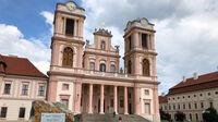 © Edith Spitzer, Wien / Kremstal-Donau, NÖ - Stift Göttweig_Stiftskirche / Zum Vergrößern auf das Bild klicken
