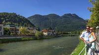 © OÖ Tourismus / Hochhauser / Bad Ischl, Salzkammergut - Traunufer / Zum Vergrößern auf das Bild klicken