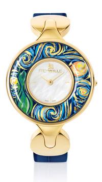 © FreyWille Wien 2018 / FreyWille, Wien - Vincent Van Gogh Uhr / Zum Vergrößern auf das Bild klicken