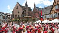 © Tourisme Eguisheim / Eguisheim, DE - Weinfest / Zum Vergrößern auf das Bild klicken