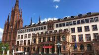 © Edith Spitzer, Wien / Wiesbaden, DE - Rathaus / Zum Vergrößern auf das Bild klicken