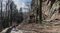 Sächsische Schweiz, Sachsen - Winterwanderung Schmilkaer Kessel