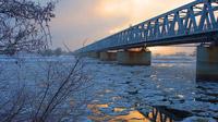 © C. Baack / Wittenberge, Brandenburg - Winter / Zum Vergrößern auf das Bild klicken