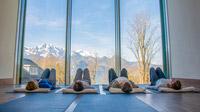 © Franz Marc Museum / Lars Oberländer / Franz Marc Museum, Bayern - Yoga / Zum Vergrößern auf das Bild klicken