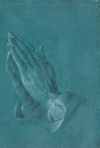 © Albertina, Wien / Albertina, Wien - Albrecht Dürer_Betende Hände / Zum Vergrößern auf das Bild klicken