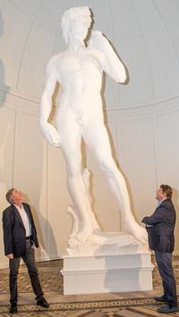 © Robin Consult / Mikes / Votivkirche, Wien - Die großen Meister, David / Zum Vergrößern auf das Bild klicken