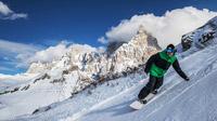 © Trentino Marketing / Russolo / San Martino, Italien - Snowboardfahren / Zum Vergrößern auf das Bild klicken