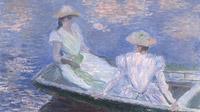© The National Museum of Western Art, Tokio / Albertina, Wien - Claude Monet, Junge Mädchen in einem Boot 1887_detail