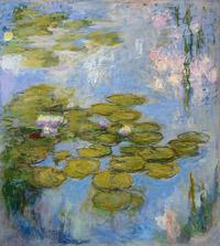 © Fondation Beyeler, Riehen/Basel, Sammlung Beyeler; Foto: Robert Bayer / Albertina, Wien - Claude Monet, Seerosen 1916-1919 / Zum Vergrößern auf das Bild klicken