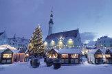 Tallinn, Estland - Weihnachtsmarkt in der Altstadt / Zum Vergrößern auf das Bild klicken