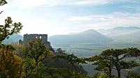 © Wiener Alpen / Franz Zwickl / Bucklige Welt, NÖ - Burgruine Emmerberg / Zum Vergrößern auf das Bild klicken