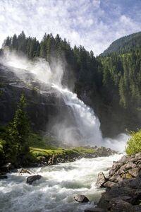 Krimml, Salzburg - Naturschauspiel Wasserfall