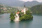 55PLUS: Insel Bled See / Zum Vergrößern auf das Bild klicken