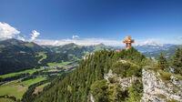 © Bergbahn Pillersee / Andreas Langreiter / Pillerseetal, Tirol - Jakobskreuz Buchensteinwand