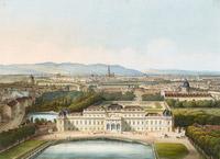 © Belvedere, Wien / Foto: Johannes Stoll / Belvedere, Wien - Ausstellung Canalettoblick, Wien aus dem Luftballon gesehen / Zum Vergrößern auf das Bild klicken