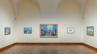 © Belvedere, Wien / Foto: Johannes Stoll / Belvedere, Wien - Ausstellung Canalettoblick / Zum Vergrößern auf das Bild klicken