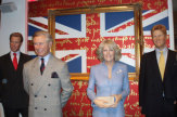 Wachsfiguren Madame Tussauds in London, GB - Royals