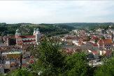 Foto © Edith Spitzer, Wien | 55PLUS Medien GmbH / Passau, Bayern - Blick von der Veste / Zum Vergrößern auf das Bild klicken