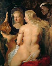 © Liechtenstein - The Princely Collections, Vaduz-Vienna / Albertina, Wien - Peter Paul Rubens, Venus vor dem Spiegel / Zum Vergrößern auf das Bild klicken