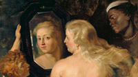 © Liechtenstein - The Princely Collections, Vaduz-Vienna / Albertina, Wien - Peter Paul Rubens, Venus vor dem Spiegel_detail / Zum Vergrößern auf das Bild klicken