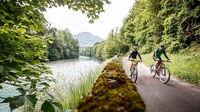 © OÖ Tourismus / Erwin Haiden / Steyr und die Nationalpark Region, OÖ - Steyrtal-Radweg / Zum Vergrößern auf das Bild klicken