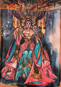 © Giuseppe Palella / St. Margarethen, Burgenland - Turandot_Kostüm / Zum Vergrößern auf das Bild klicken
