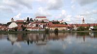 55PLUS Medien GmbH / Blick auf Ptuj mit der Drau, Slowenien / Zum Vergrößern auf das Bild klicken