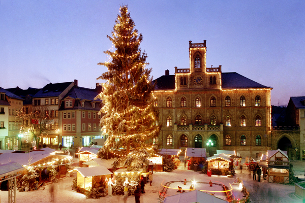 Weimarer Weihnachtsmarkt, Marktplatz